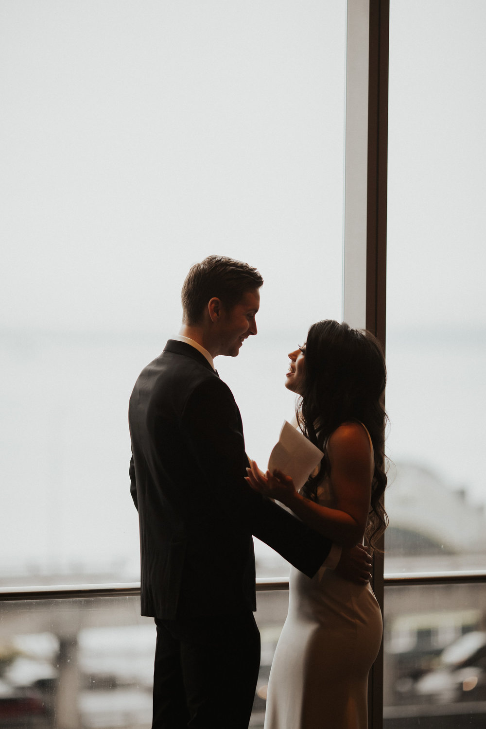 Seattle Wedding Venues With A View | Four Season Seattle Wedding
