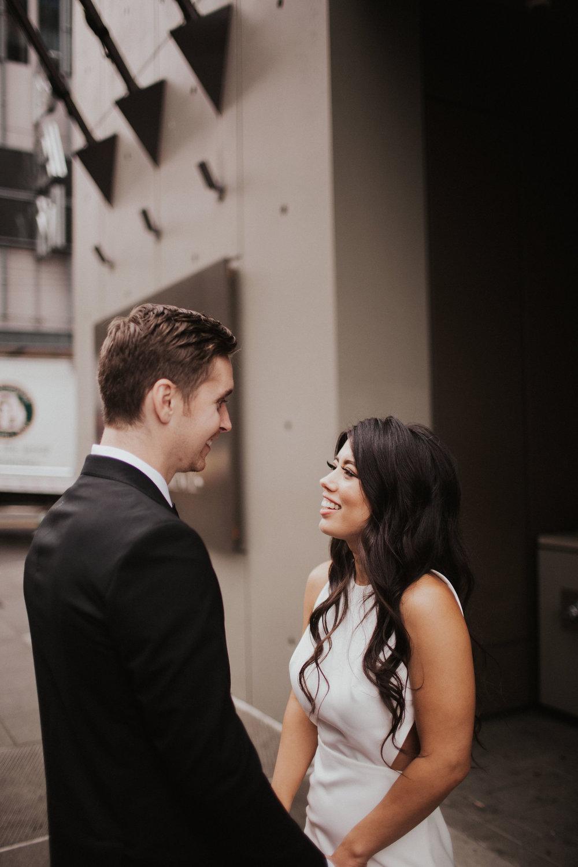 Downtown Seattle Wedding Portraits