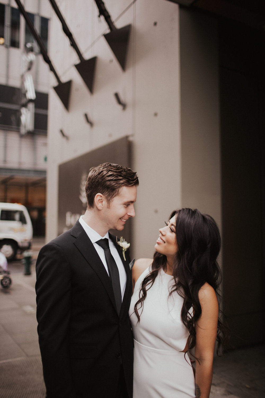 Urban Seattle Wedding at The Four Seasons Seattle