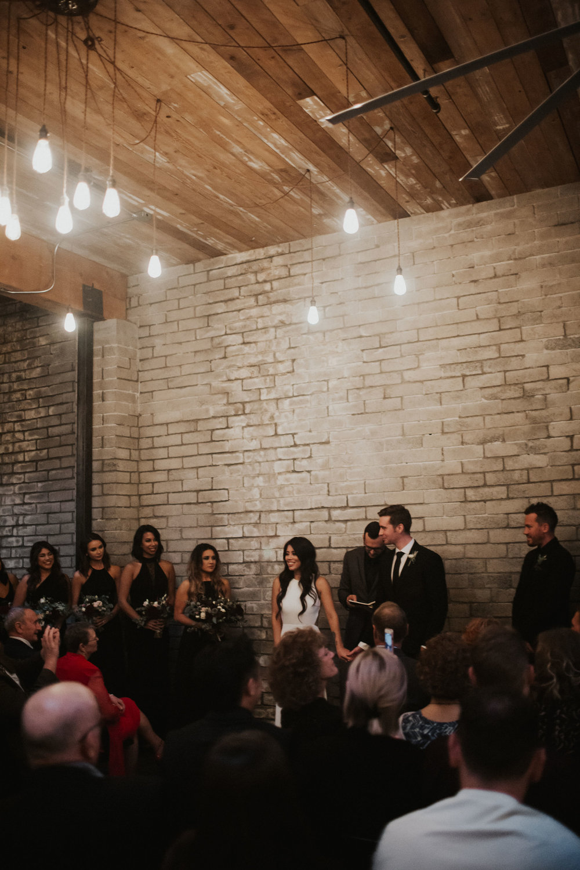 Within SODO Wedding Ceremony Pictures