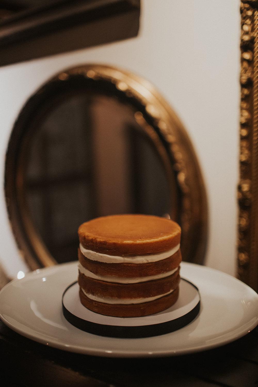 Naked Wedding Cake Inspiration