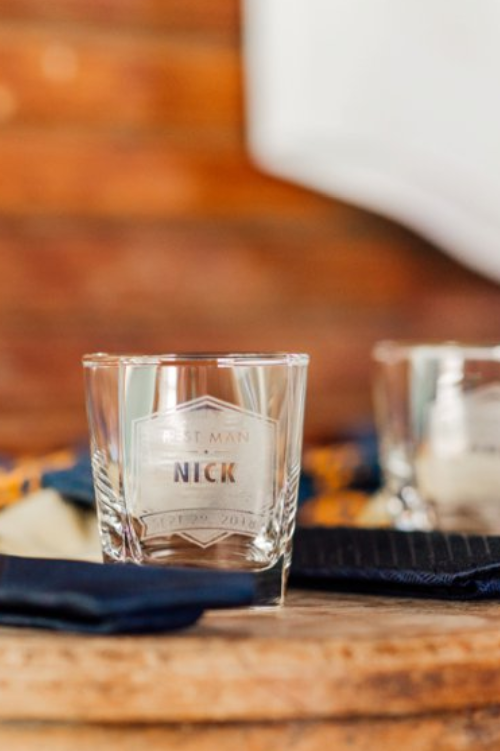 Groomsmen Shot Glasses