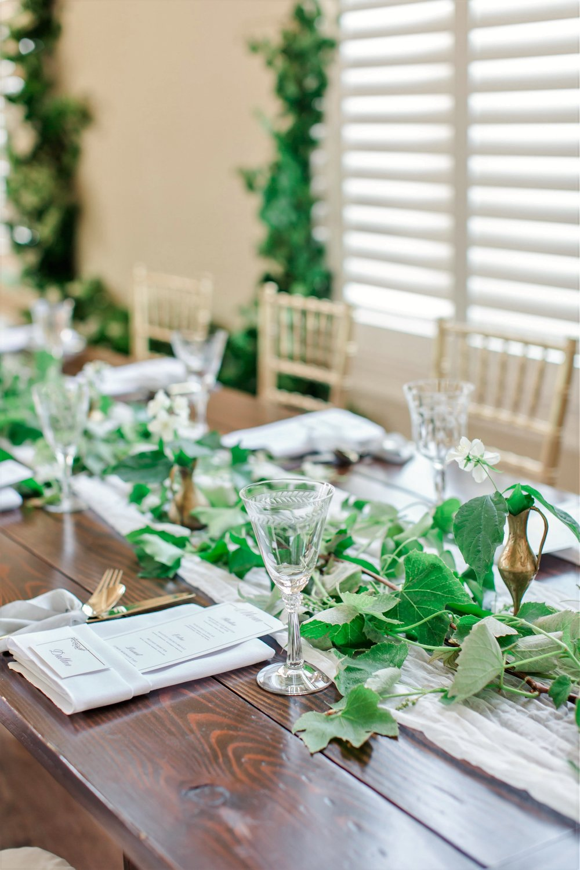 Grecian Wedding Reception Theme