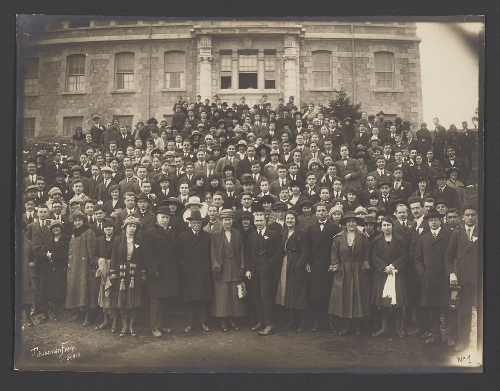 Robert College teachers and their families, early 1920s, Columbia University Archives, RC Documents