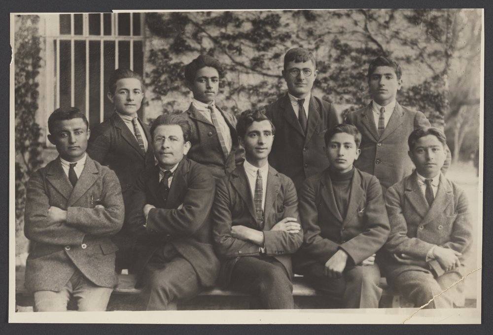 Armenian Students, Robert College, 1920s, CU-RBML, RC Documents