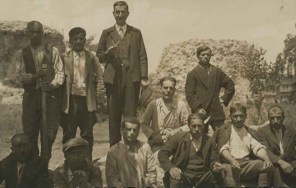 Excavation Workers, Aziz Ogan Collection