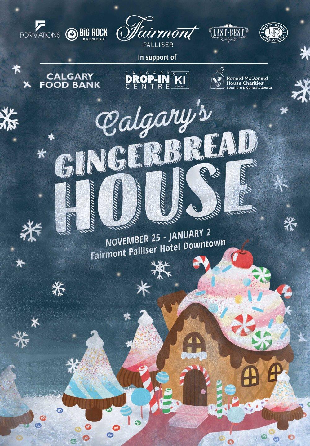 Calgary's Gingerbread House Social Media