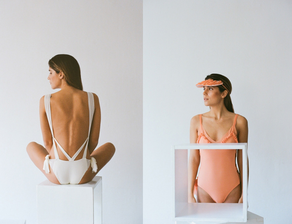 Nueva generación de marcas de bañadores, con diseños delicados y femeninos hechos con tul, fabricados con sostenibilidad. El resultado es ir guapísima en bañador.