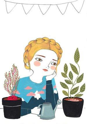 688ede1389 Feb 28 ILUSTRADORAS ESPAÑOLAS QUE DEBES CONOCER · Girly Girl Magazine