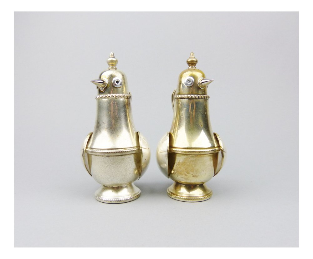 Pair of cruet birds