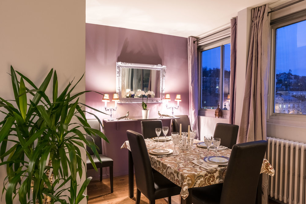 Apartment, western suburbs of Paris
