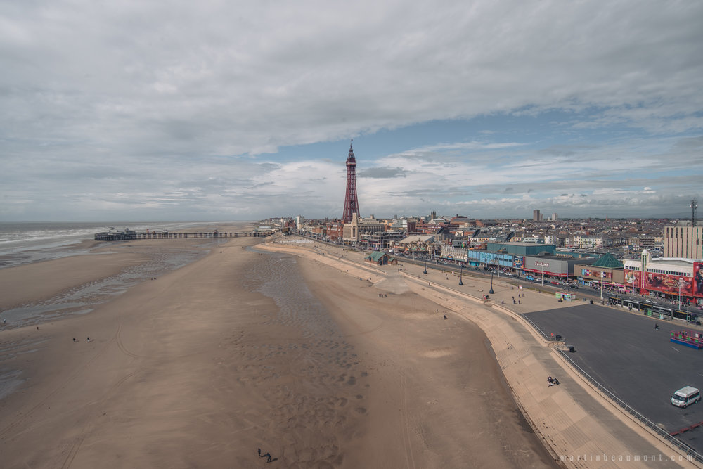 Blackpool Tower from the ferris wheel