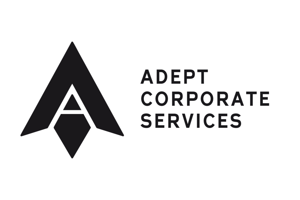 Adept logo and writing black on white.png
