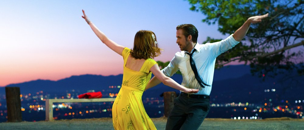 La la land was a visual delight, with the cinematography delivering as much of the message as the plot