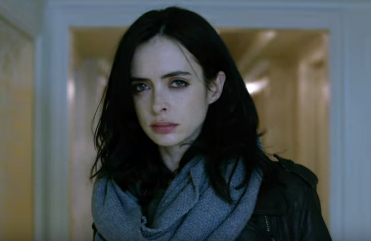 Jessica Jones is played by Kysten Ritter who captured the essence of the character perfectly.