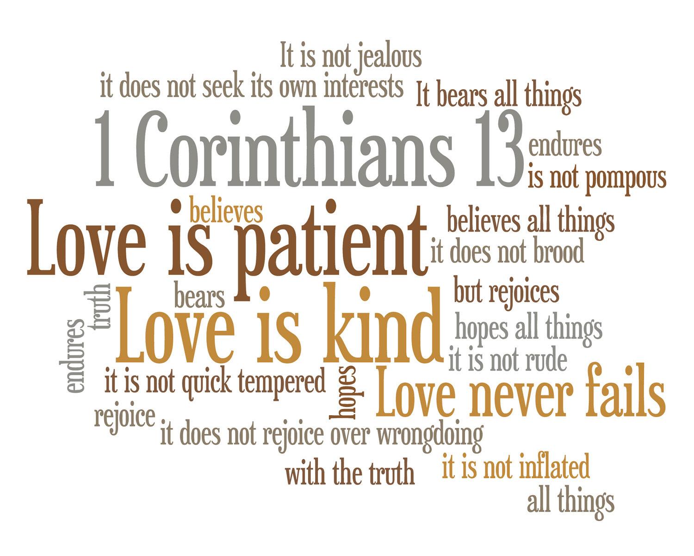 1 corinthians 13 love hook church