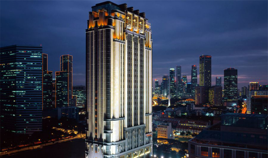 Gotham City, sorry – Parkview Square stands out with its opulent Art Deco facade amidst the city's skyscrapers. (Credit: Meinhardt Group)