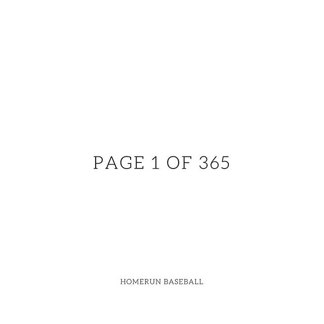 A new year offers you 365 blank pages, write the most beautiful chapter of your life. Happy New Year! 🎉  #homerunsg #homerunbaseball