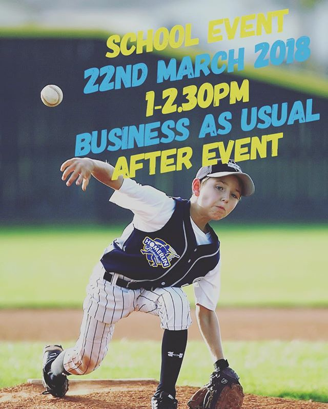 Business as usual after 2.30pm! If you have any corporate event coming up. Feel free to contact us! contact@hrb.com.sg  #homerunsg #homerunbaseball
