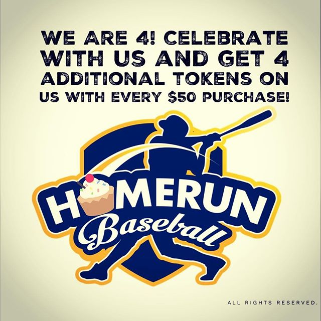 Thank you everyone for your support these 4 years! Just a little way to show our appreciation 😘 #homerunsg #homerunbaseball #weare4