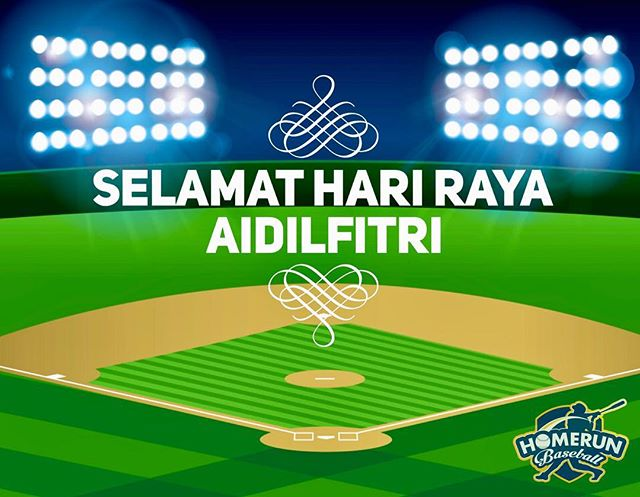 Selamat Hari Raya! Business as usual during this long weekend! See you guys at Homerun! #homerunsg #homerunbaseball