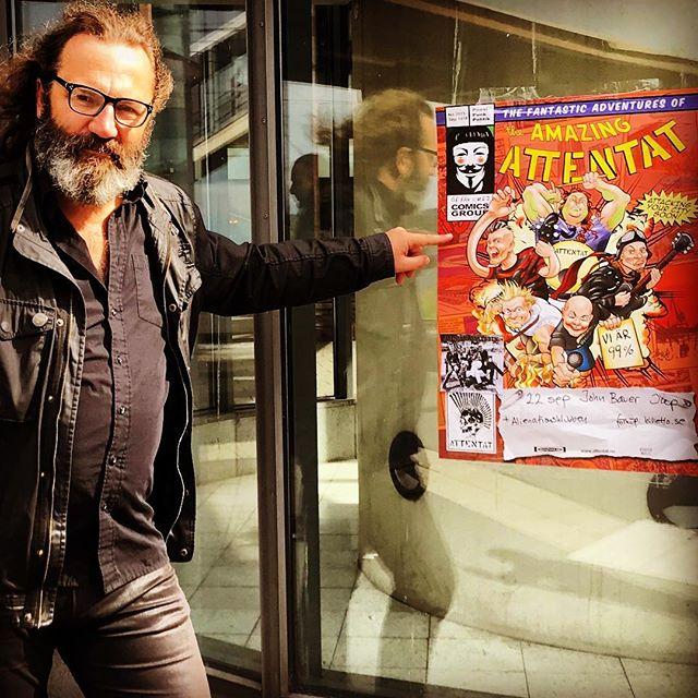 22 september spelar vi med Attentat på John Bauer hotel. Förköp: billetto.se #attentatpunk #poppunk #johnbauerhotel #jonkoping