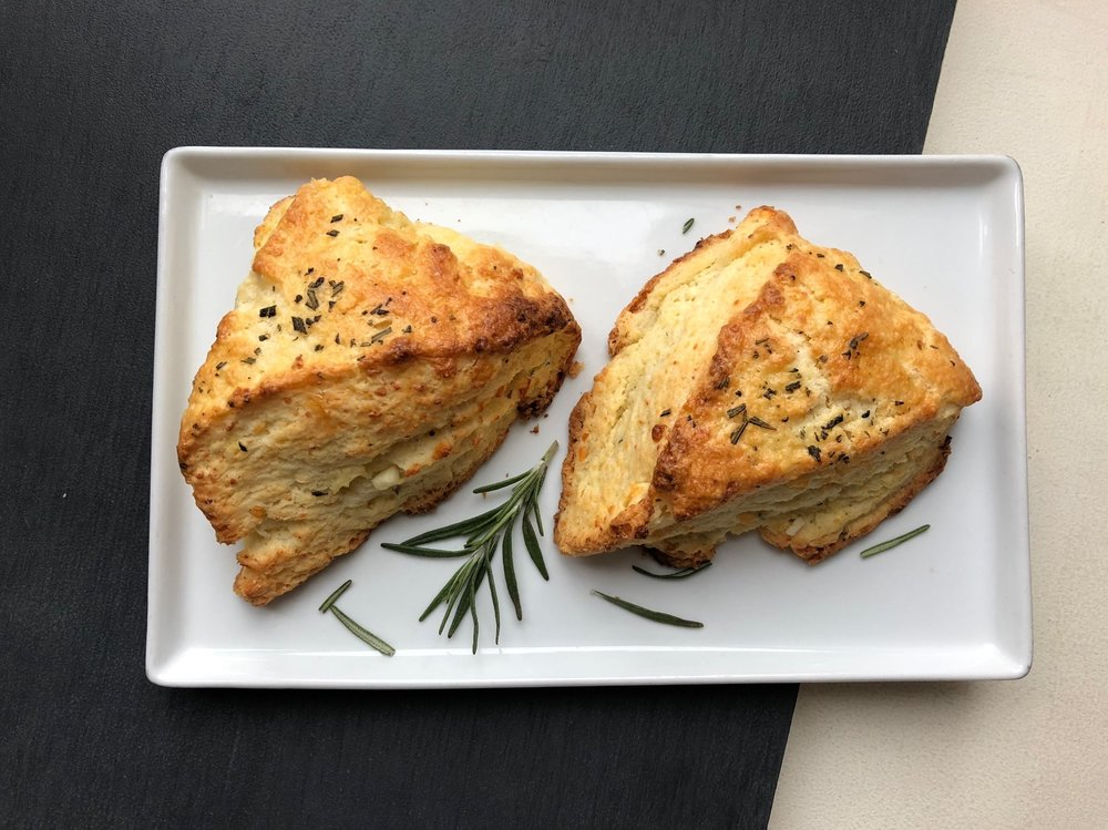 TRADITIONAL ROSEMARY & SEA SALT SCONE