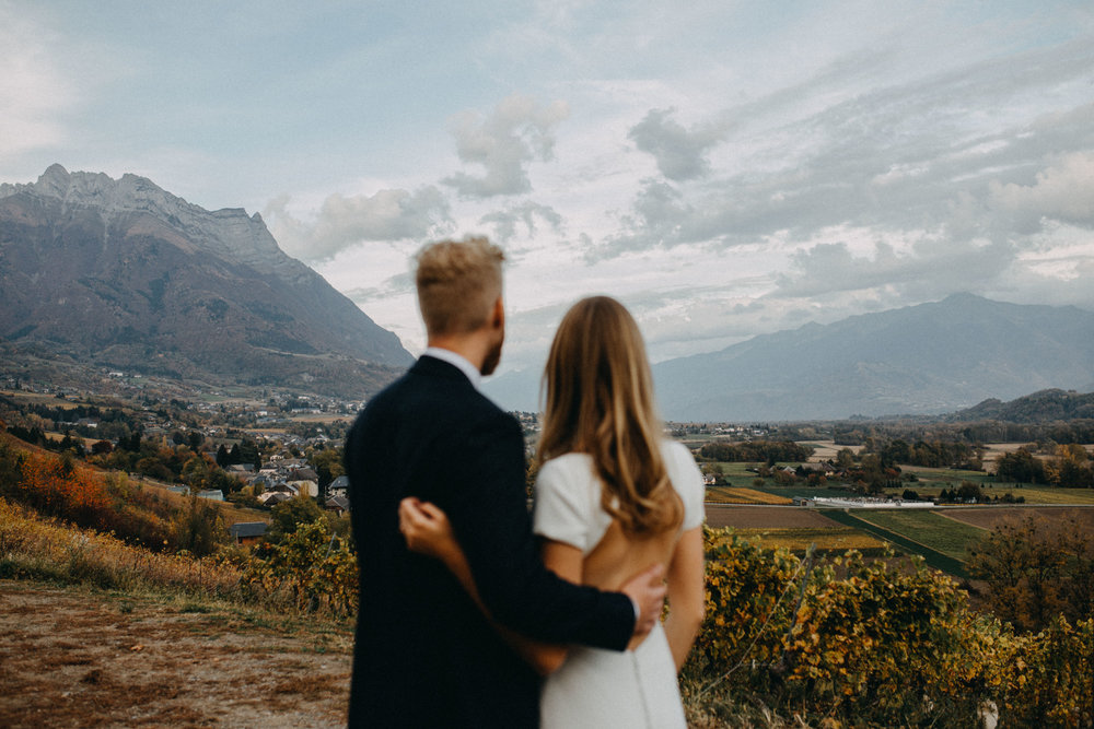 french alps wedding elikubikova