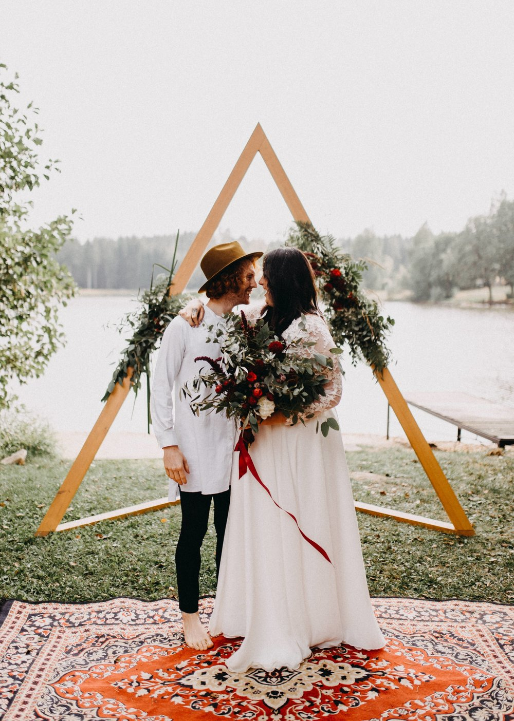 boho wedding elikubikova
