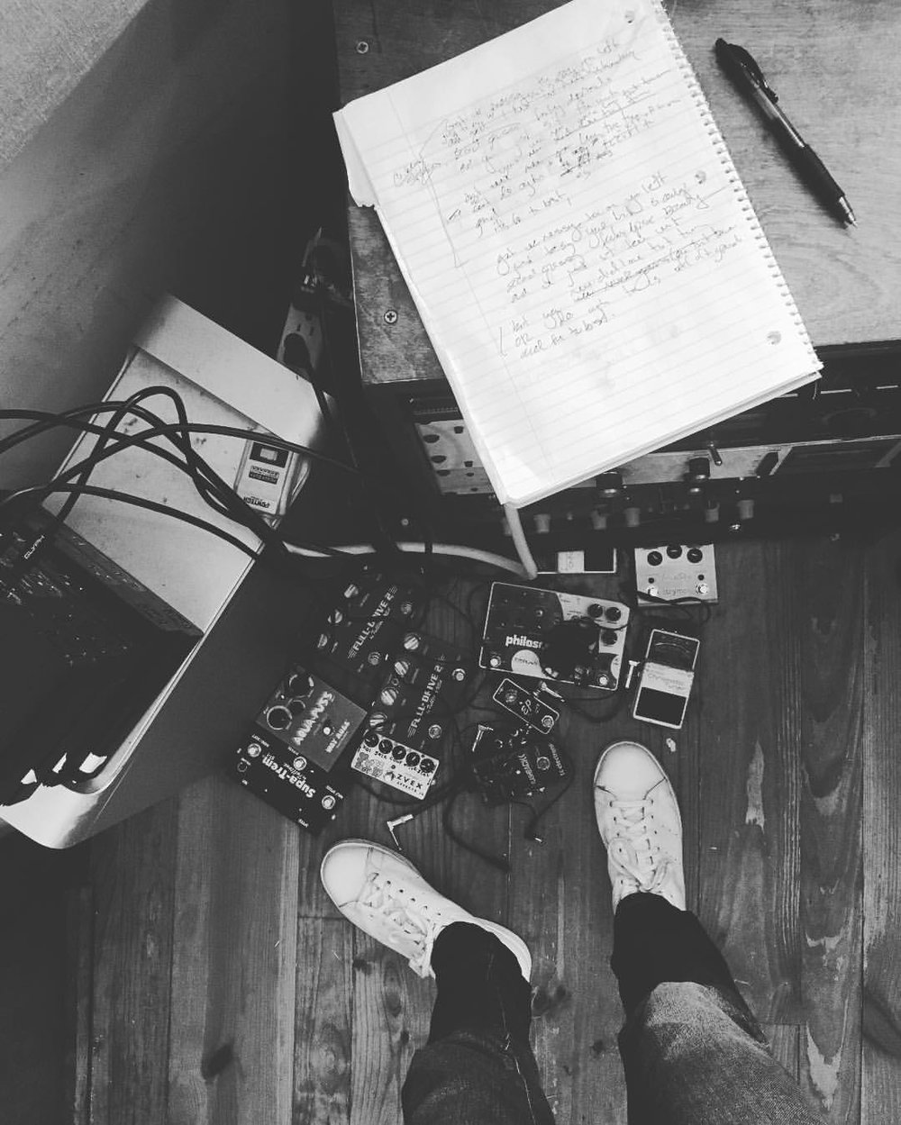 old pedals new songs 🖲📝
