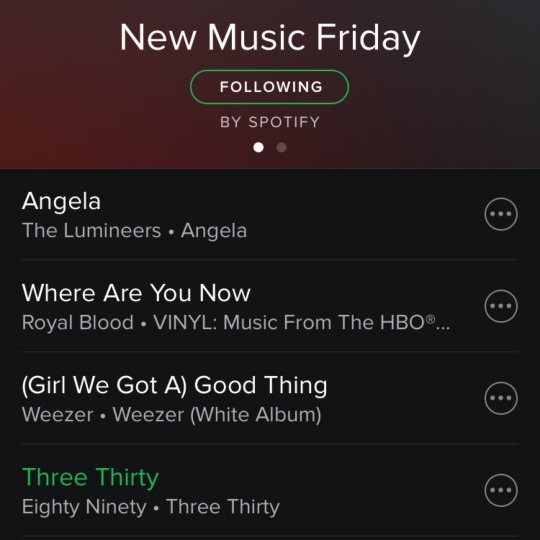 So excited to be featured on @spotify's #NewMusicFriday playlist!