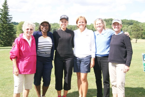 LPGA Tour members at Clearview Legacy Foundation fundraiser.