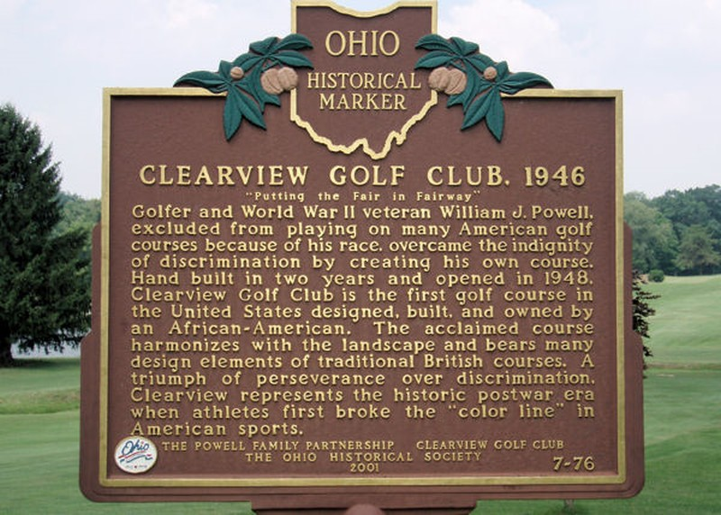 Clearview Golf Club was placed on the Ohio Historical Register 2001.