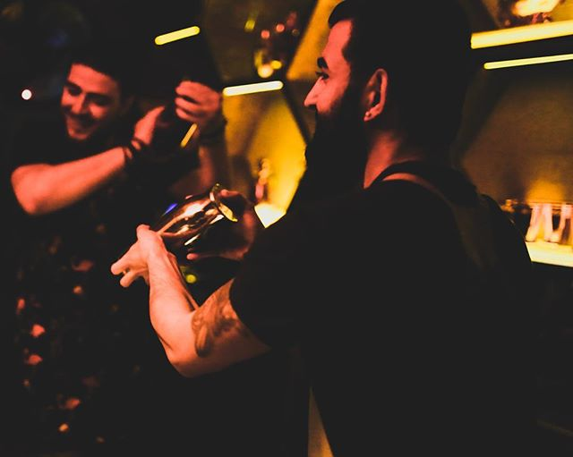 Thanks to everyone who celebrated the 1 Year Anniversary of our @elixir.house @absolutelyx with us 🥂 Come keep the party going with us and the tunes of @buberonur 🔊  #gangofalexandra