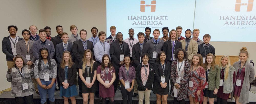 The Handshake America Columbus Class of 2017