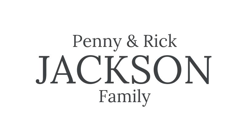 Penny & Rick Jackson