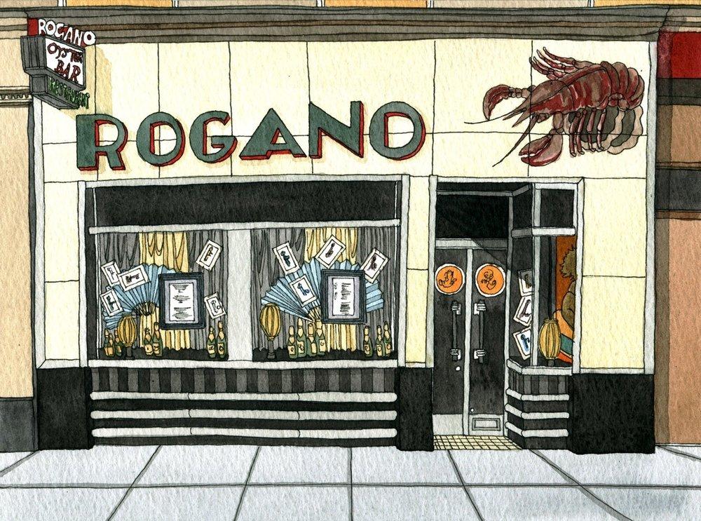 Rogano, City Centre  Scottish Fish and Seafood £££