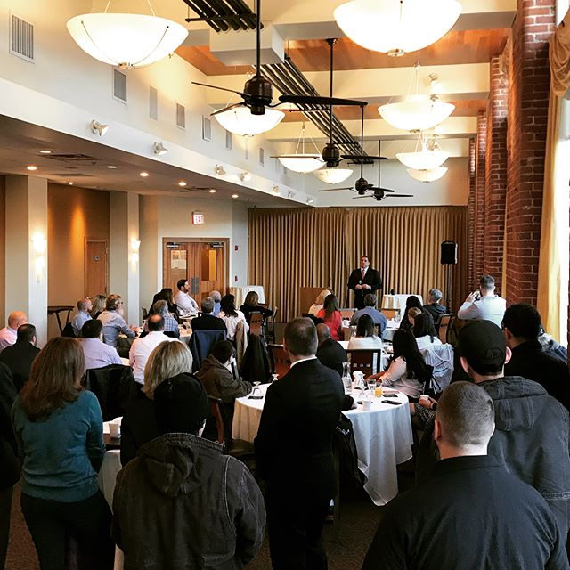 "From this morning's ""In The Lup"" series, our staff and teams gathered to discuss and hear our plans for growth and innovation in hospitality & real estate. #LupoliLove"