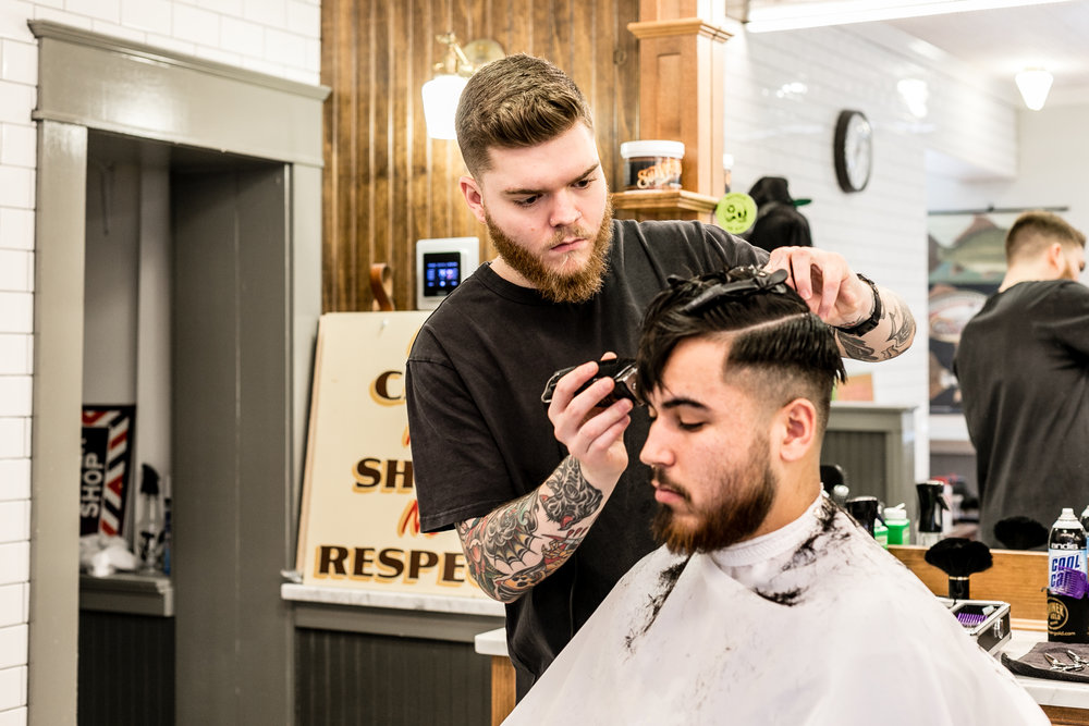 RESURGENCE IN BARBERSHOPS - Richmond Times Dispatch