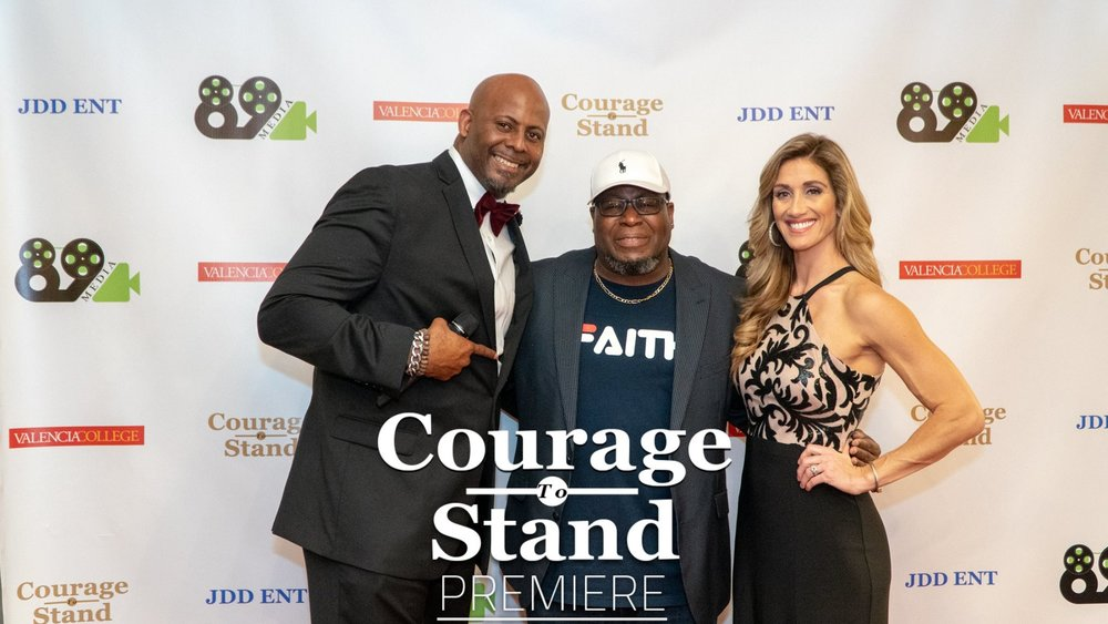 Courage To Stand - February 2019On February 17th, over 450 people made their way to the AMC Altamonte Springs Theater to watch the Valencia and 89 Media Produced short film