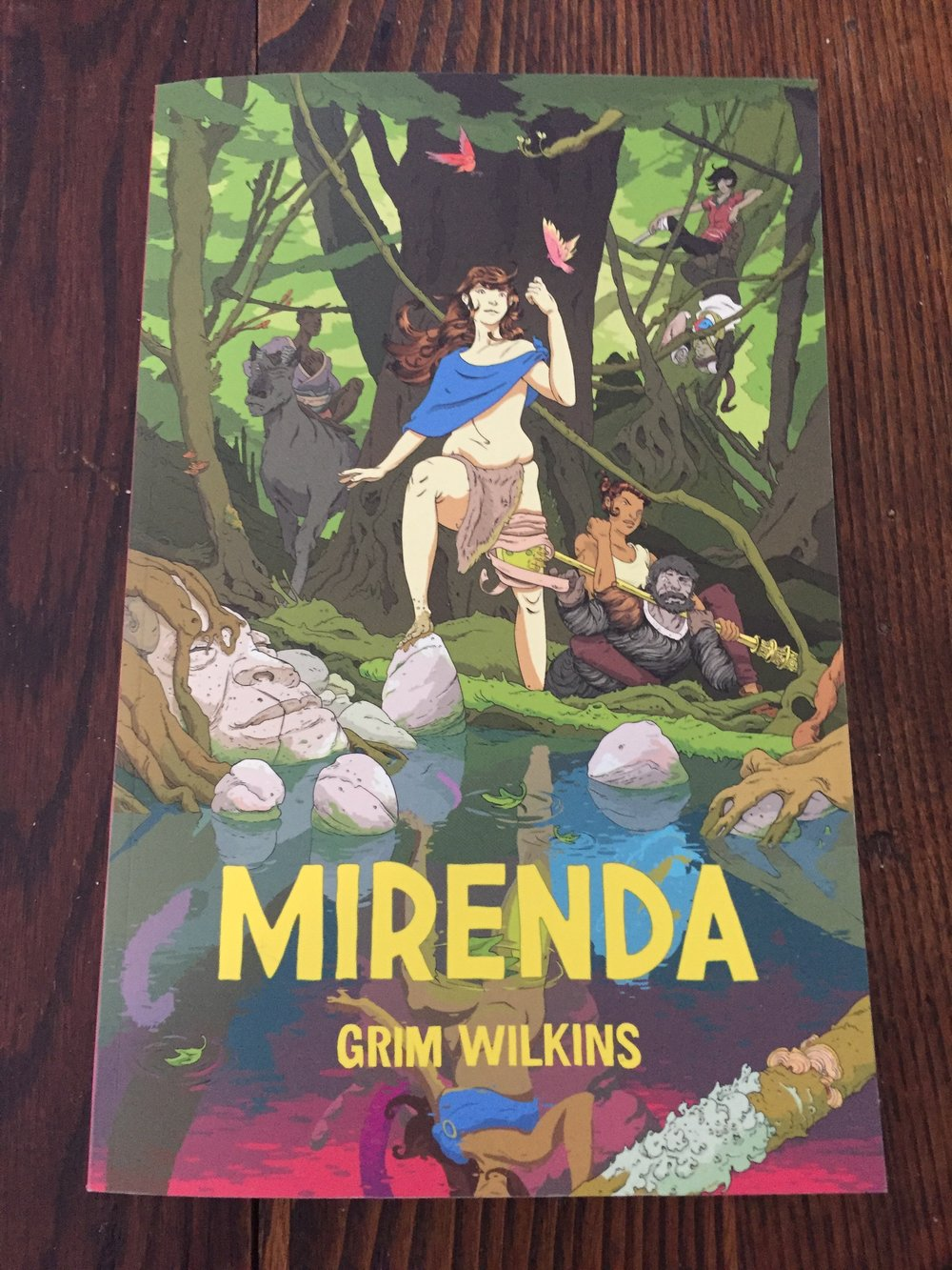 The front cover of Mirdena by Grim Wilkins