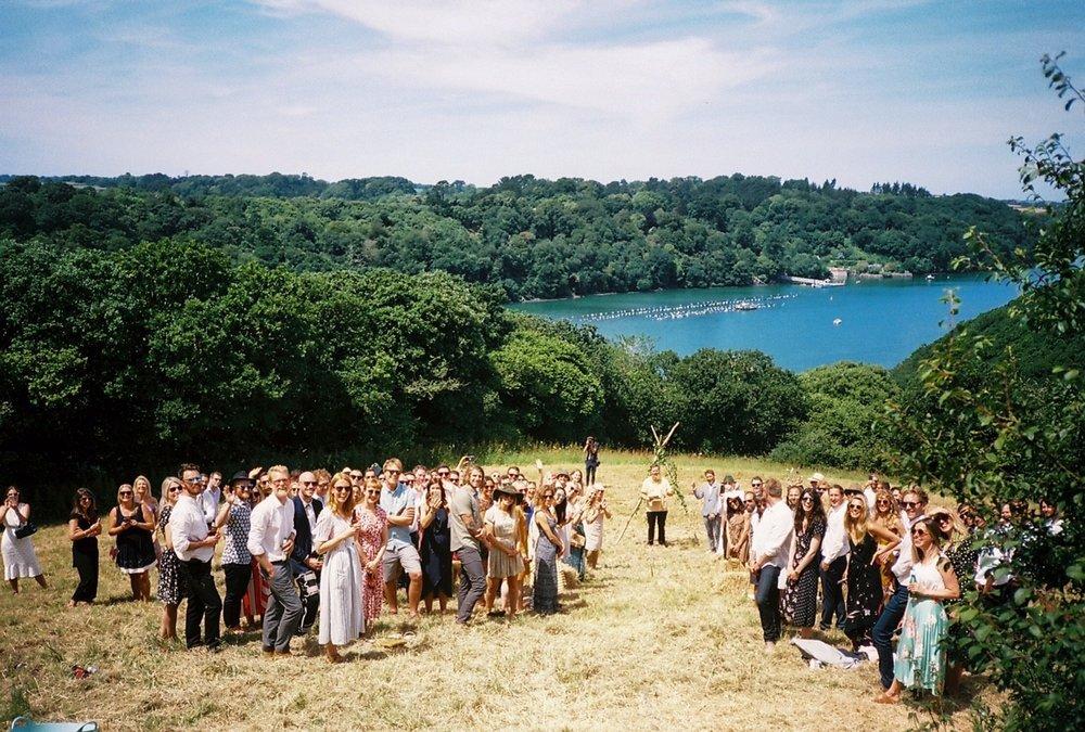 A brides eye view