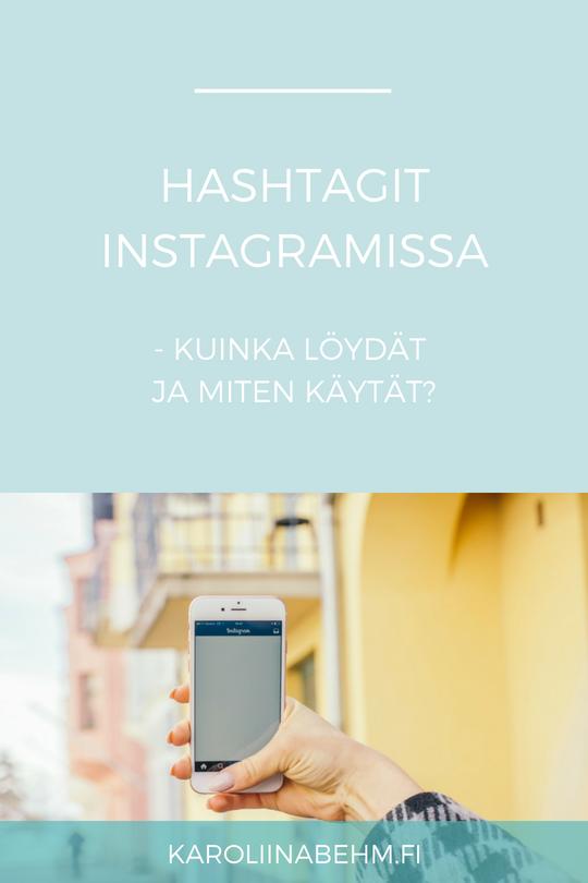 Hashtagit Instagramissa - Kuinka löydät ja miten käytät?