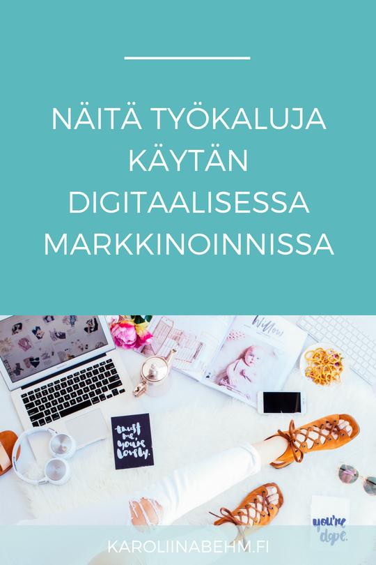 Digitaalisen markkinoinnin työkaluja yrittäjille