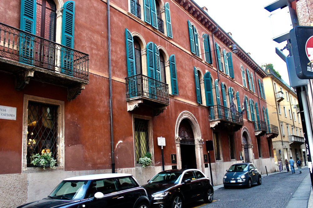 Side street in Verona