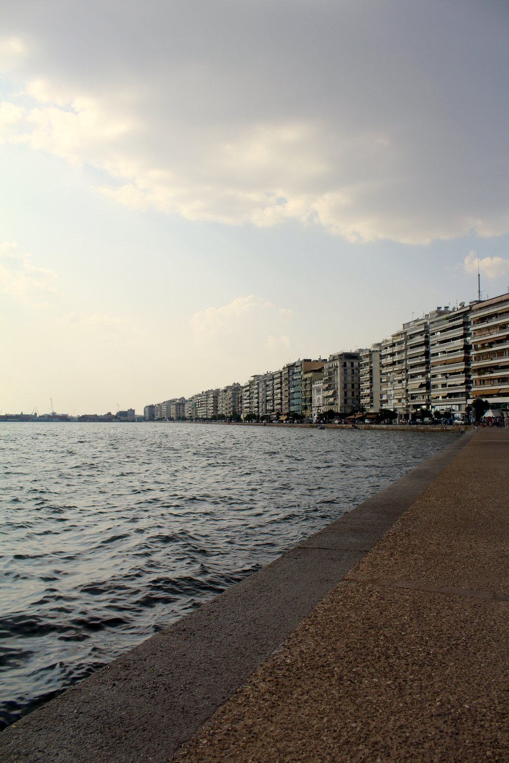 The edge of the world in Thessaloniki, Greece