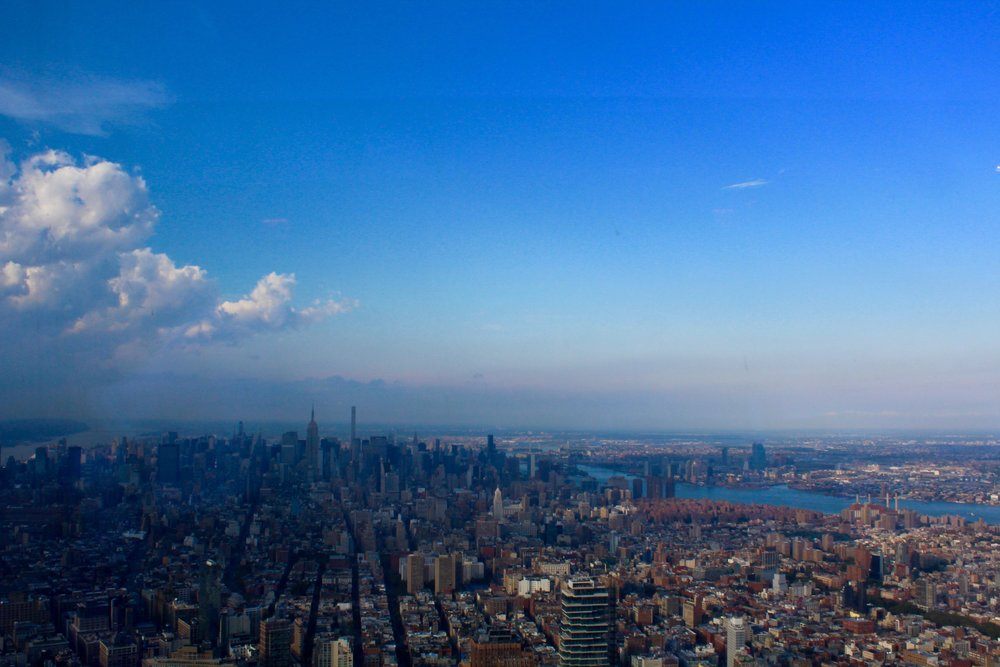 View from the World Trade Center Observatory