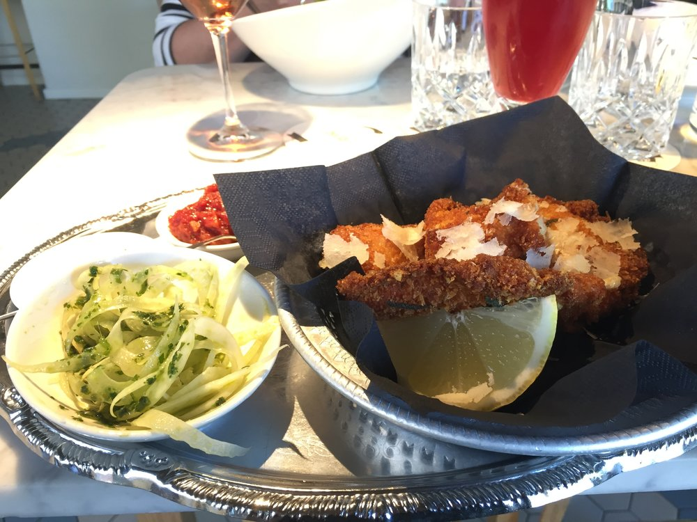 A Nordic take on schnitzel that is honestly one of the best things I have ever eaten.
