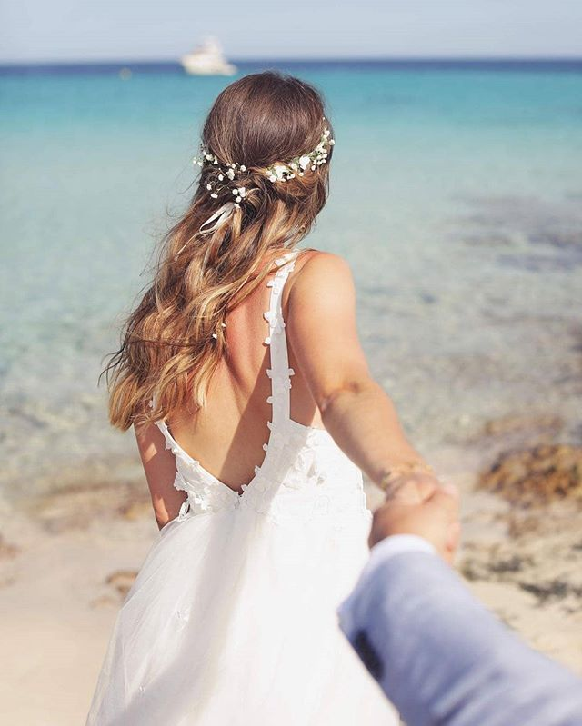 Our happy bride!!! 😍 Repost @camille.exertier  #marewaformentera #marewaexperience #formentera #weddingplanner #weddingday #weddingphoto #destinationwedding #beachwedding #bride #weddingdress #love