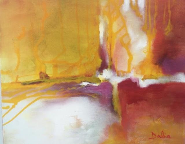 New Day    20x24    Acrylic on Canvas    $650